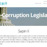 サピンII~フランスの反汚職法~