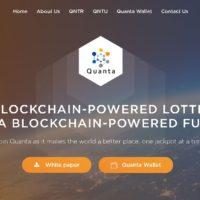 【Quanta(クオンタ)】公平で透明なブロックチェーンの宝くじ概要